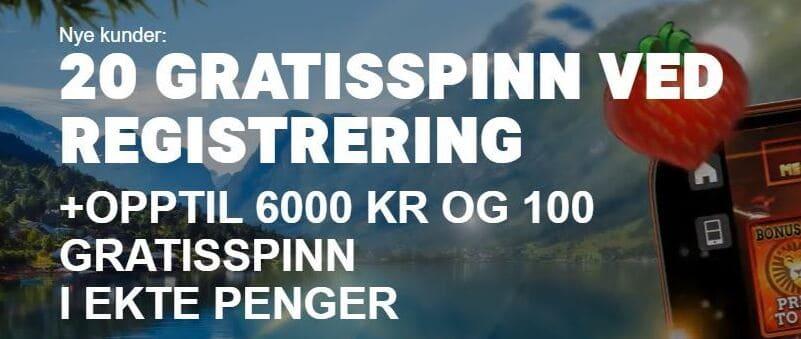 Leovegas bonus i Norge